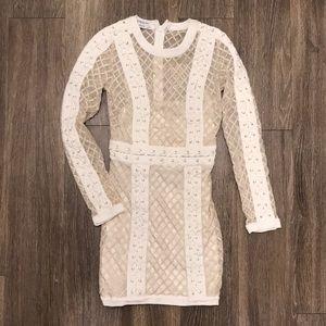 BEBE Sexy Bodycon Mini Dress Rare Style